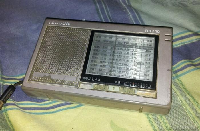德生9710二次变频全波段收音机