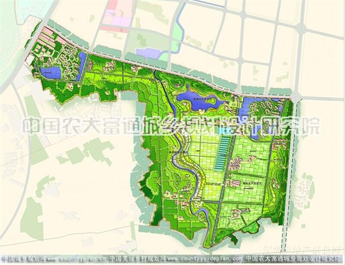 生态农场园区规划设计图