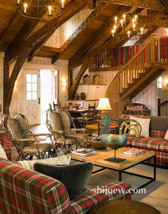 国外别墅软装陈设室内设计案例