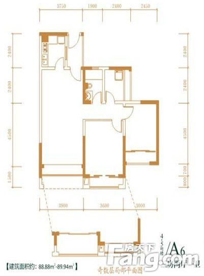 招标89平米房屋设计