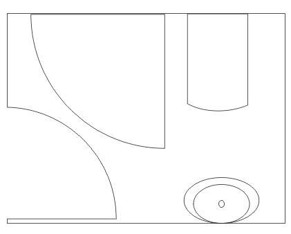 工程图 简笔画 平面图 手绘 线稿 421_338