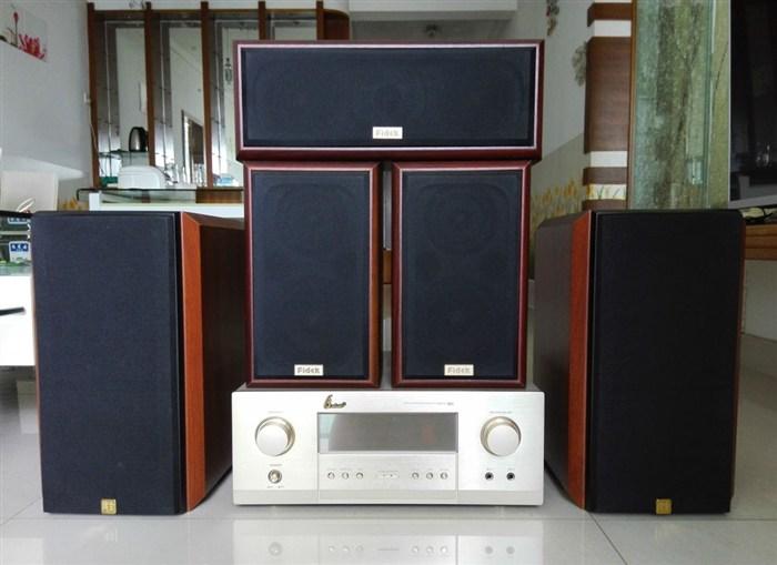功放+主音箱+环绕音箱+中置音箱,整套出售。(赠送 ...