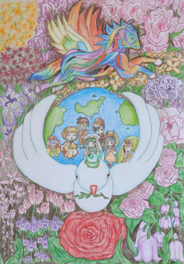 【分享和平】2015-2016和平海报绘画主题