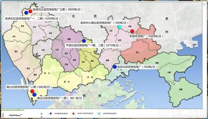 丰顺县龙岗镇地图