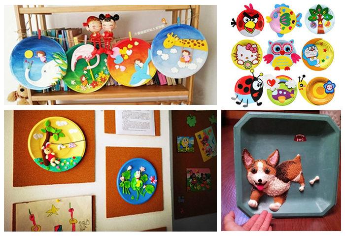 眼睛是孩子认识世界的窗户,颜色是组成世界的重要元素。越是纯的、明亮度高的、饱和度大的色彩对视觉的刺激越强。我们在洁白的空纸盘上彩绘出各种各样的图案,然后利用五颜六色的超轻黏土捏出我们想要的形状,使我们的作品更加立体化。让孩子们在培养对色彩认知的同时,也创作出了一件属于自己的艺术品。 注:活动免费!参与活动就有精美礼品赠送!   【主办单位】: