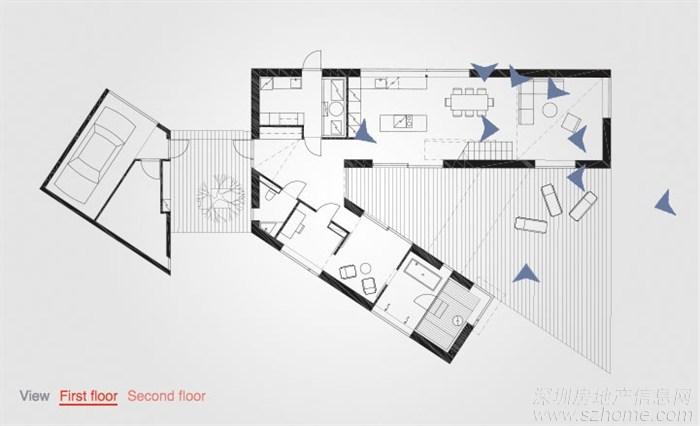 装修论坛 设计师沙龙  > sanaksenaho芬兰建筑师的最新的房子很小但很