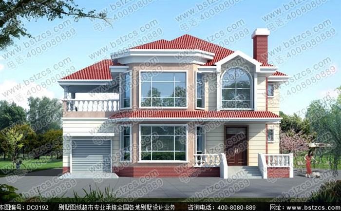 农村二层楼房带车库设计图展示 (700x433)-三间二层楼房设计图 二