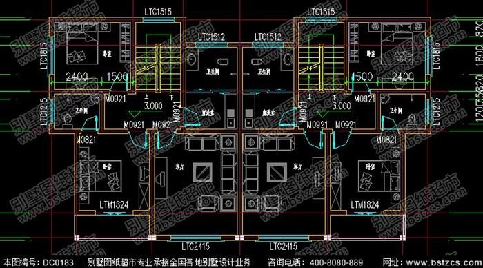 这款三层双拼别墅外观比较时尚,很适合在农村建房,一楼带堂屋卧室卫生间厨房餐厅储物间,顶楼带有露台,开放式空间,适合家庭娱乐场所,下面是具体的户型设计图。 18.5米×11米新农村三层双拼别墅设计图纸及效果图 编号: DC0183 层数: 三层 结构形式: 砖混结构 主体造价: 32-38万开间: 18.