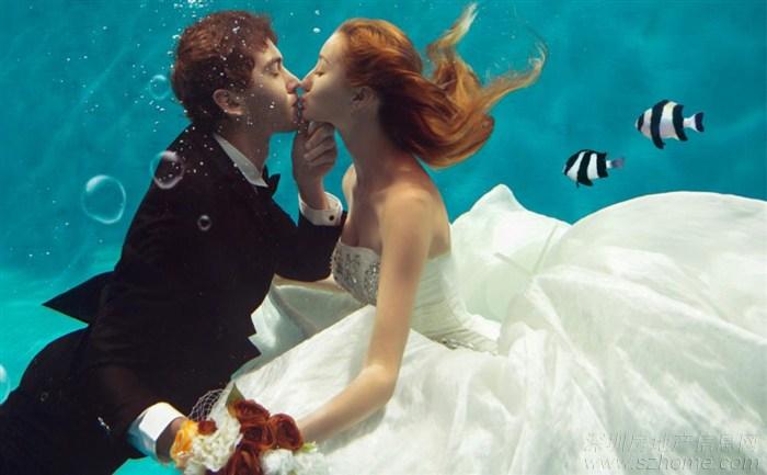 团购三亚水下婚纱照一般价格是多少