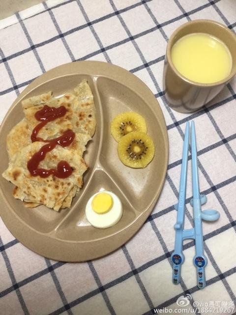 幼儿园吃不好,宝妈们都给孩子准备什么早餐?
