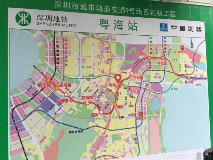 深圳地铁12号线最新图