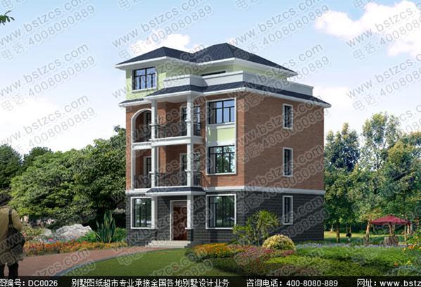 造价30万100平方米四层农村自建房全套施工图纸