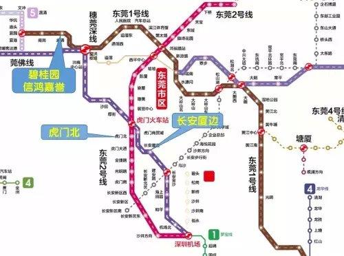 深圳机场大巴路线图