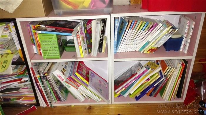 小书柜,有四个,粉色黑色