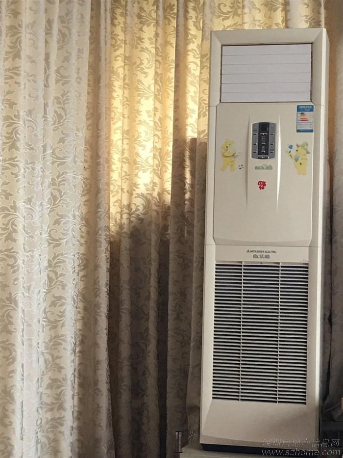 三菱电机柜机空调低价转让需自提