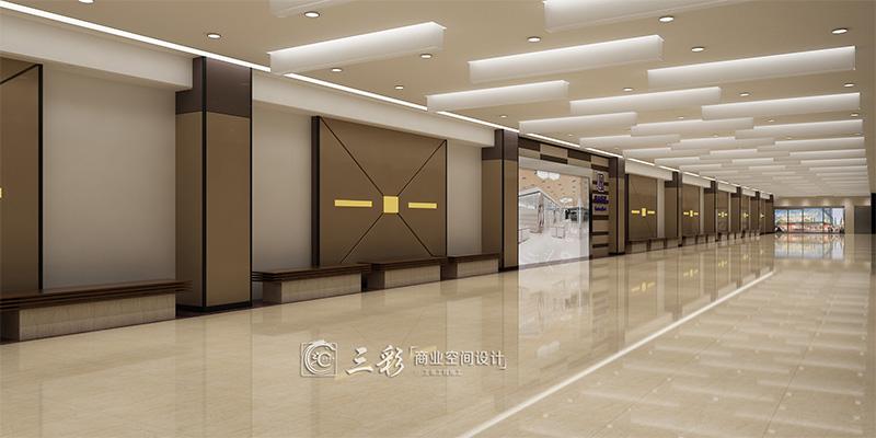 现代商场超市装修设计的室内设计,需要遵循一定的原则和方法。 1、设计的范畴 商场室内环境设计的范畴,主要包括商业空间的内部环境与外部环境两个部分。其中商业空间的内部环境主要包括营业部分、自选部分、交通部分及辅助部分等设计内容。商业空间的外部环境主要包括建筑外观、人口广场、停车场地及户外设施等设计内容。 商业空间内外环境设计归纳起来有这样一些内容:商业空间内外环境的设计创意、功能布局、动线安排、空间组合、界面处理、色彩选配、采光照明、展示陈列、广 告标志、绿化配置、材料选择、设备协调、安全防护、装饰风格与装