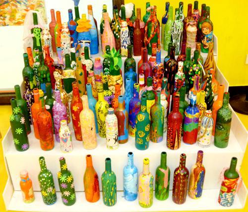 【和瓶子有个约会】瓶子彩绘亲子手工课堂火热报名中!