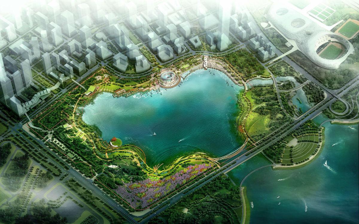 深圳后海公园(深圳湾