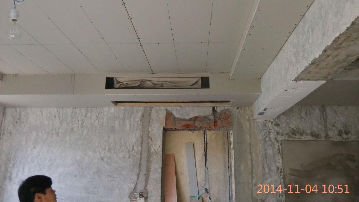 苏州中央空调吊顶施工图片
