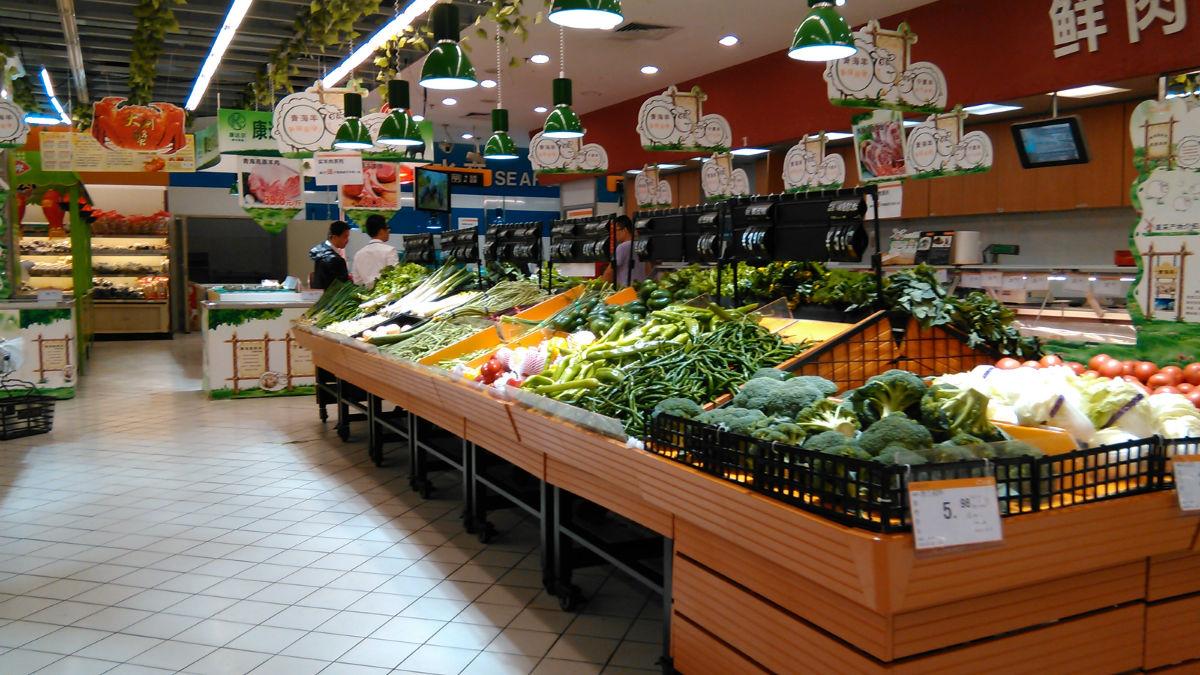 超市整体环境很
