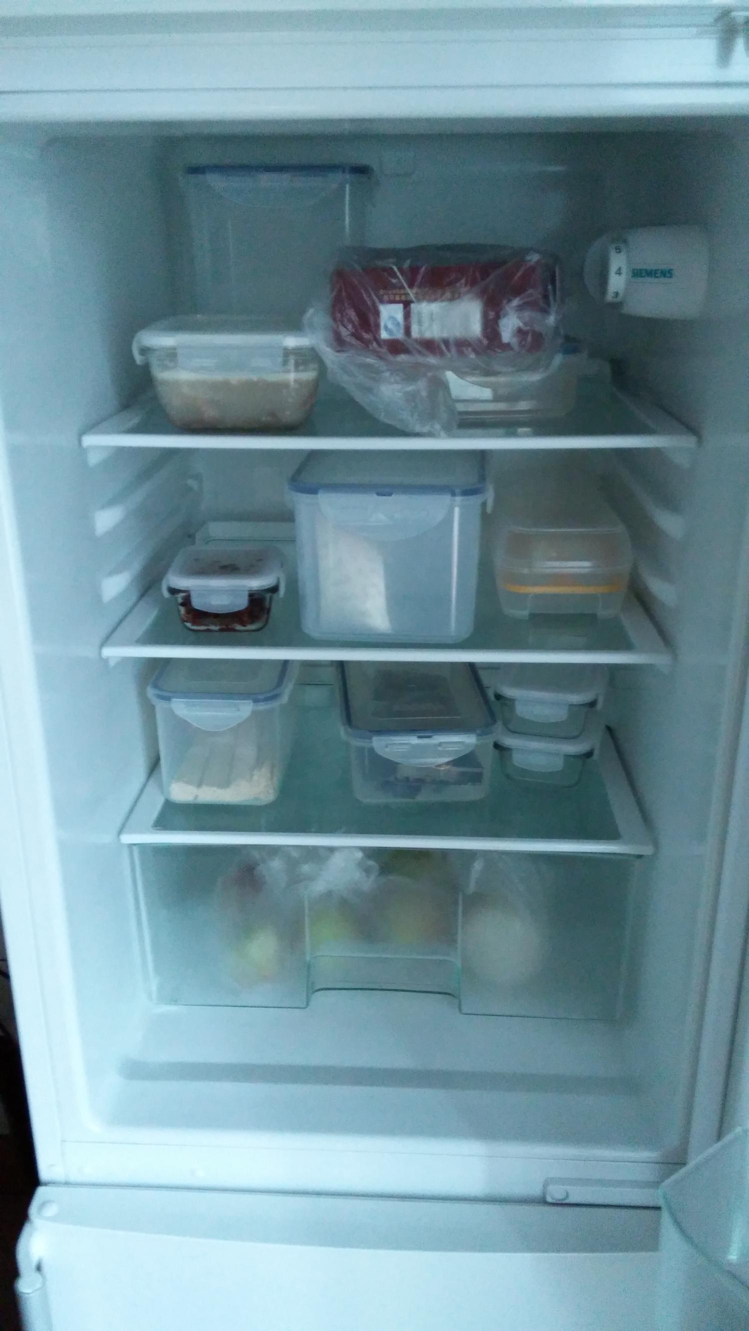 西门子双开门冰箱九成新转让