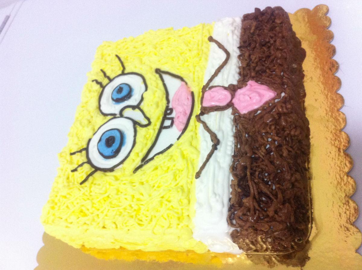 秀一下邻居最新生日蛋糕新做-----少见的可爱爸爸款生日蛋糕,宝宝们