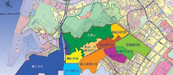 蛇口工业区的规划与范围(看看自己的房子在不在范围内