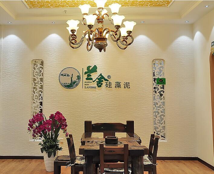 深圳硅藻泥背景墙效果图
