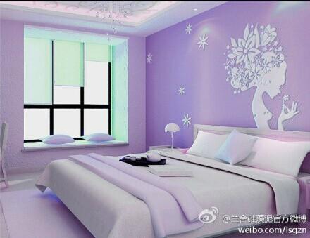 深圳硅藻泥卧室效果图--兰舍硅藻泥