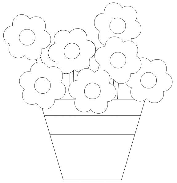 分享63个我收集的简单的填色图案