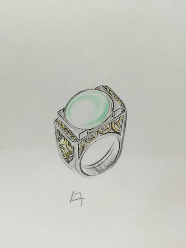 珠宝设计图
