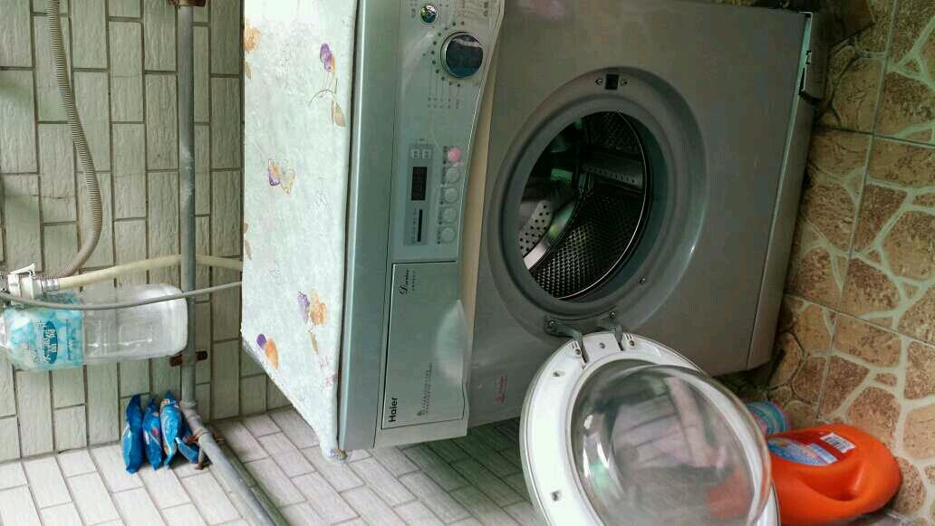 转海尔滚桶5kg洗衣机