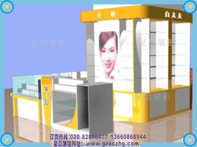 商场化妆品专柜 装修设计效果图