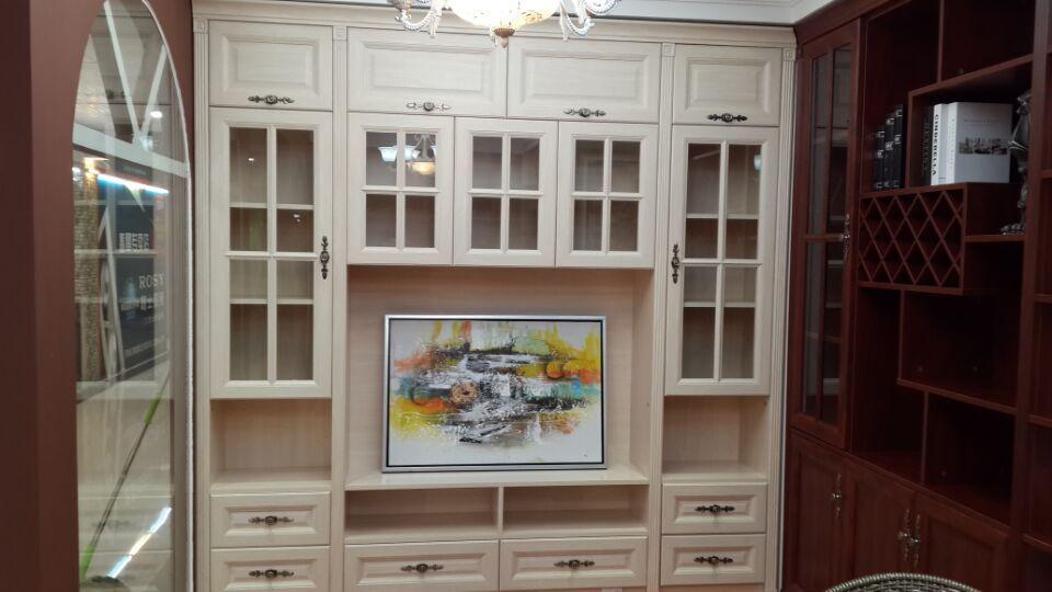 实用性超强的欧式电视柜可放客厅或卧室