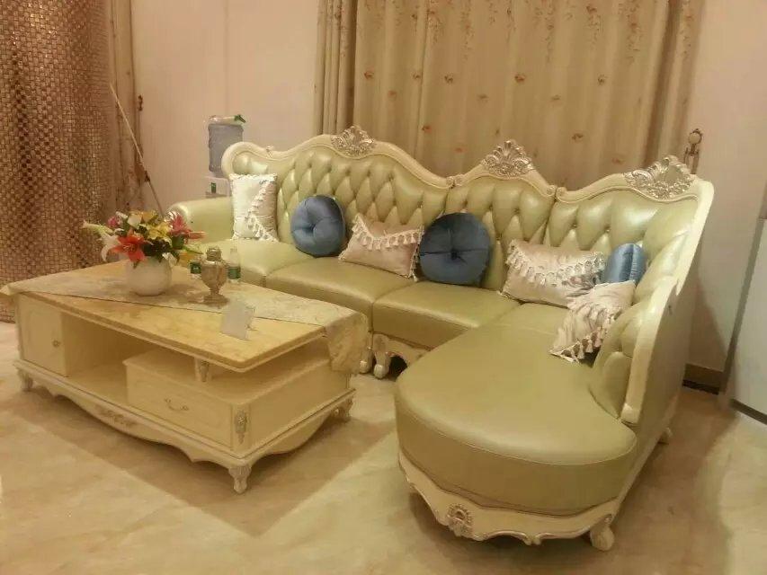 欧式真皮沙发 - 家在深圳图片