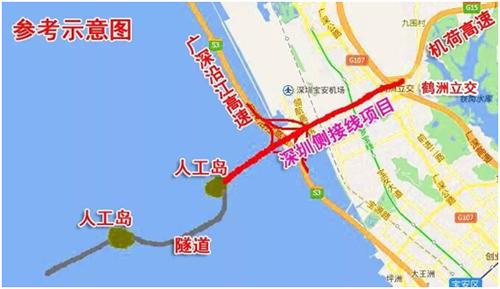 广深沿江高速公路(深圳段)二期工程