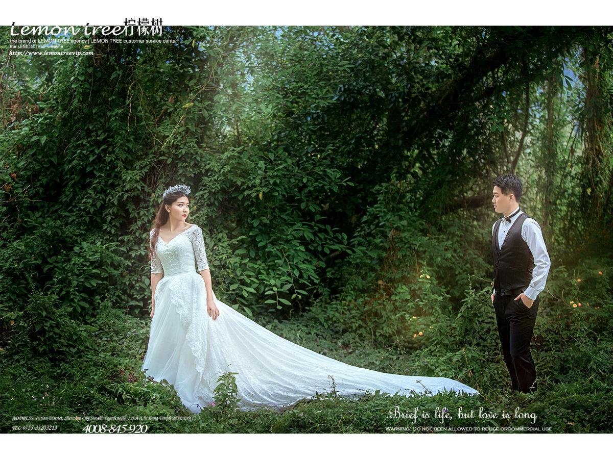 森林公主系列主题客片--深圳柠檬树婚纱摄影工作室
