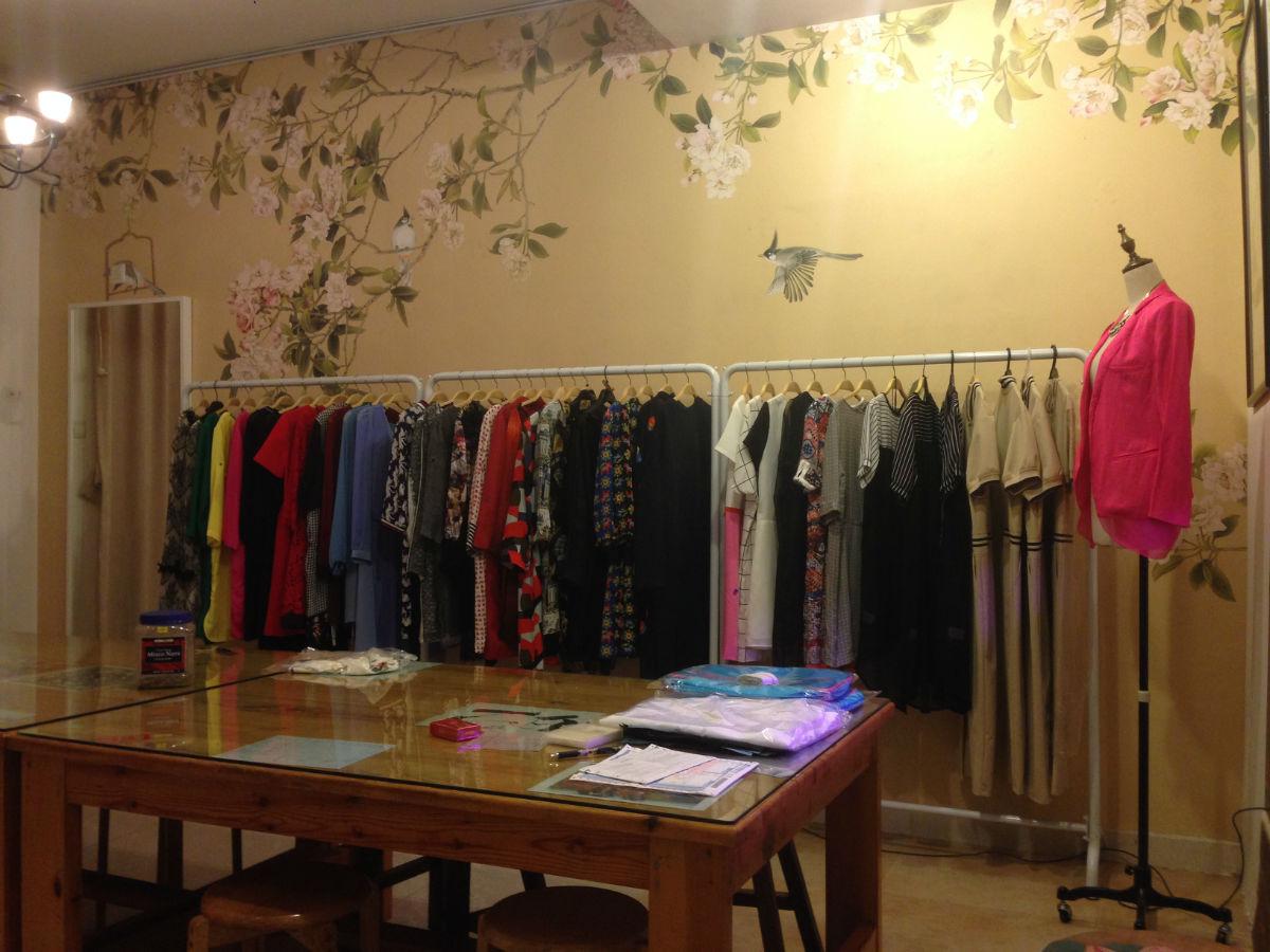 辣妈创业一年多,原创服装设计工作室在成功的道路上稳步前行