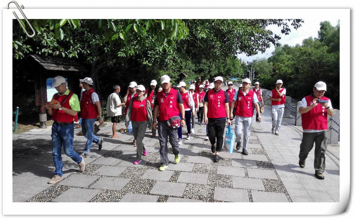 王石为深圳垃圾分类公益项目代言在红树林海滨公园开拍