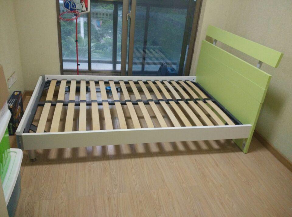 转让1.2米全新红苹果儿童床