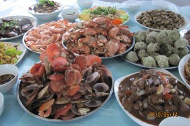 惠州大亚湾海鲜农家乐海鲜美食原生态休闲自助游