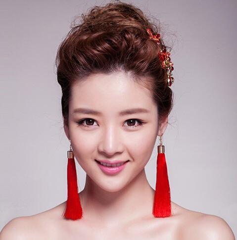 中国风新娘发型,盘发 头饰成最美造型