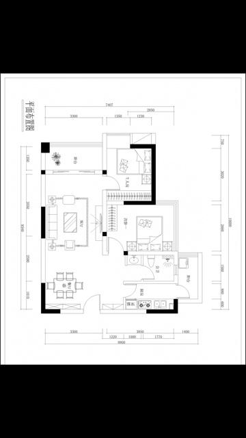 房子设置图140平面图