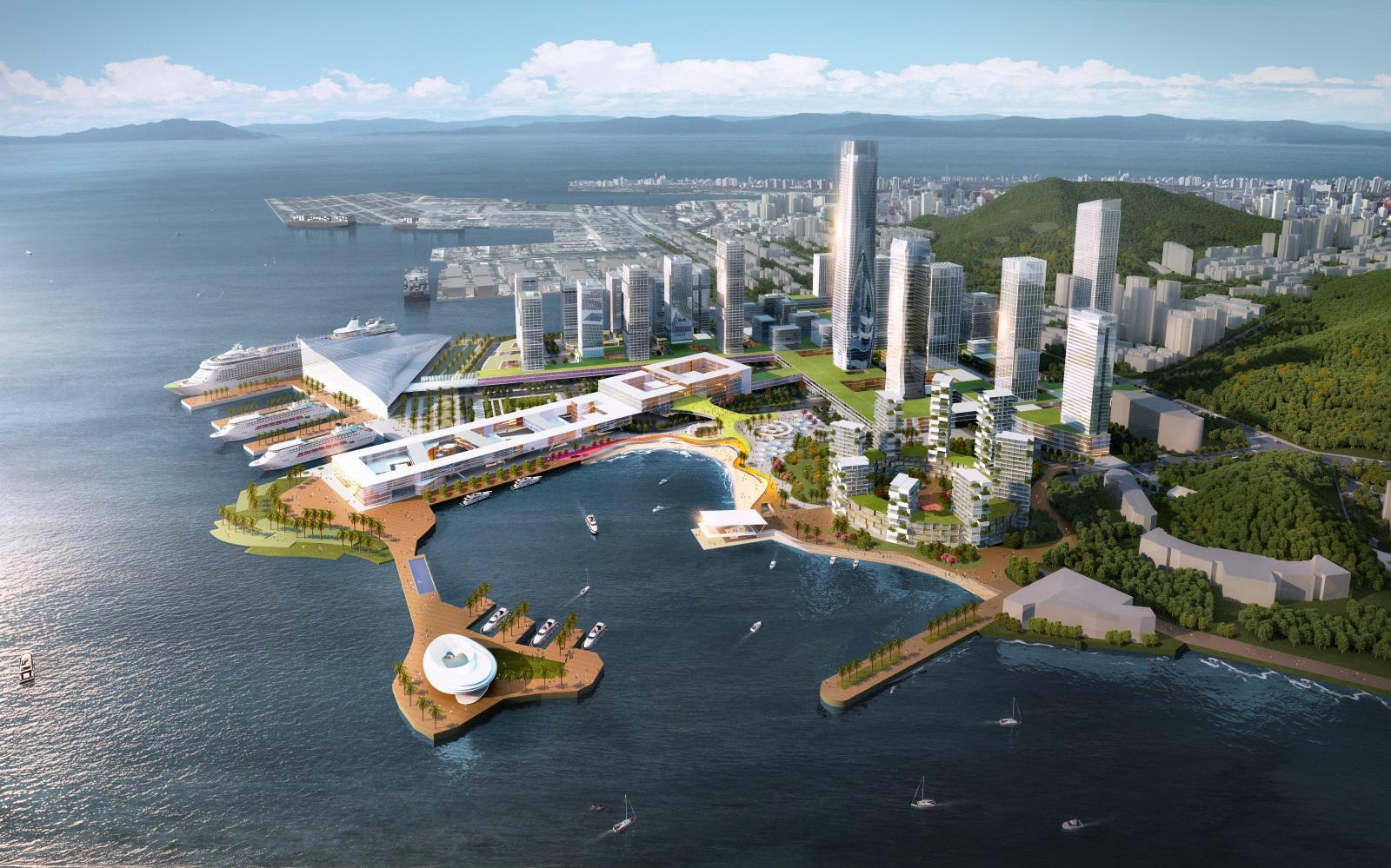 深圳最大的两大经济增长级,就在半岛城邦所在深圳湾,蛇口区域.