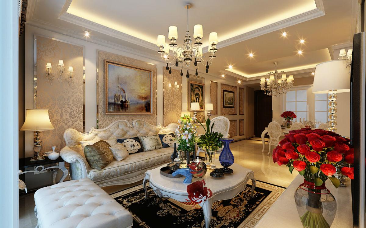 【大族河山】一场现代欧式奢华风格的家装盛宴