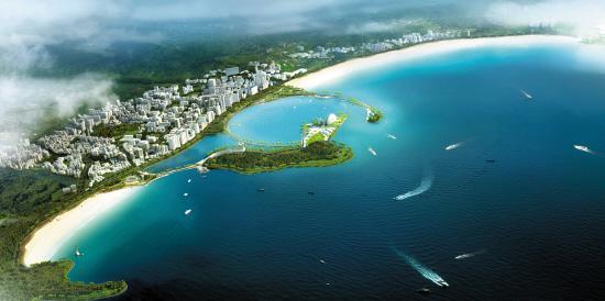 珠海市海洋农业和水务局发布《珠海市香炉湾沙滩修复图片
