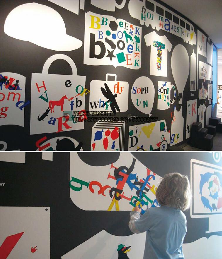 极具创意的手绘墙图片