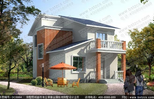现代二层小别墅设计图-农村小别墅设计图,农村小别墅图片欣赏图片