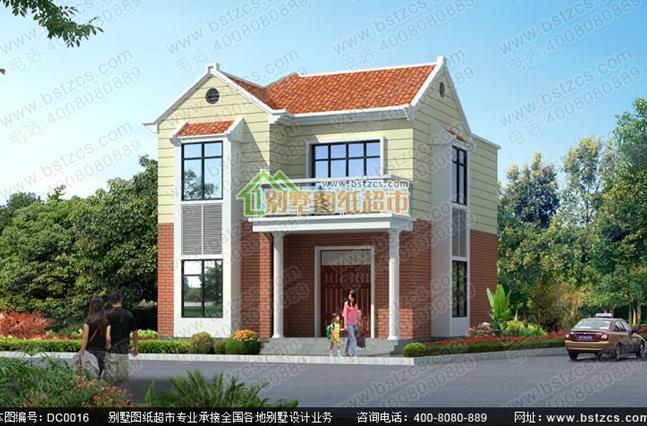 造价15万以内的二层农村小别墅全套施工图纸