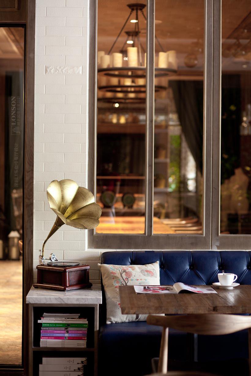 深圳le乐咖啡 | 时尚轻食主义餐厅设计实景照
